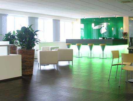 Kantineneinrichtung Impressionen Kantinenmoebel modern Design Lounge