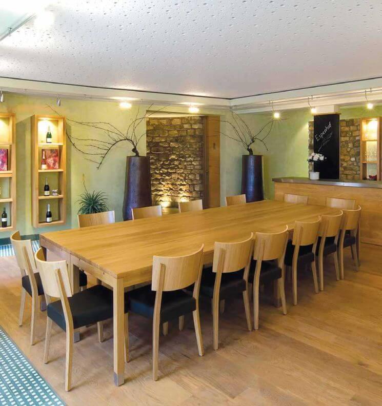 kantineneinrichtung m bel f r die kantine. Black Bedroom Furniture Sets. Home Design Ideas