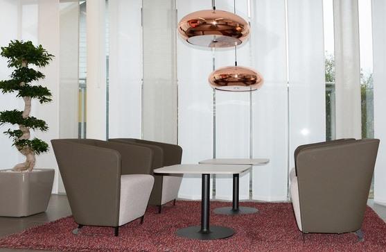 Kantinentisch Macao Saeulentisch Lounge Wartebereich Hotel vielseitig einsetzbar