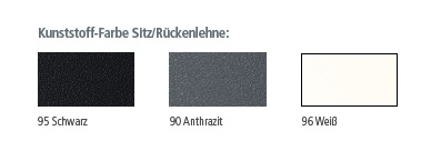 Mehrzweckstuehle outline Materialien Kunststoff Sitz Rueckenlehne Farben