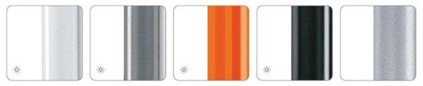 Stuhlgestellfarben uni weiss grau orange anthrazit aluminium Kantinenstuhl Mehrzweckstuhl