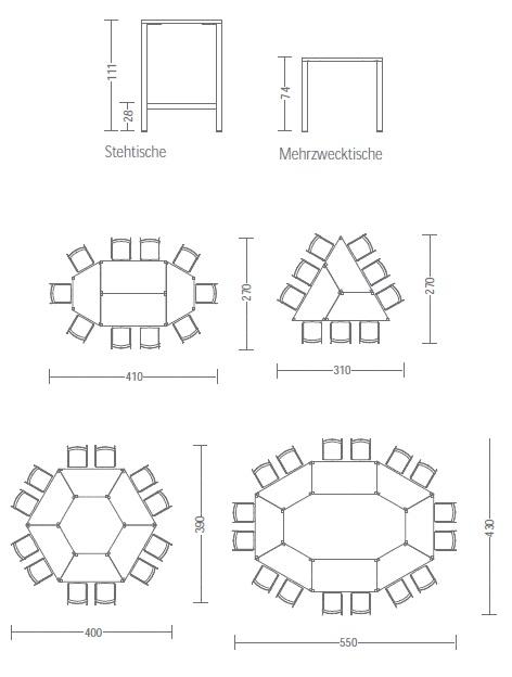 Tischhöhen client