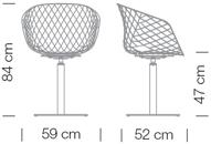 Varianten Massangaben Schalensessel unika Kantinensessel ergonomisch