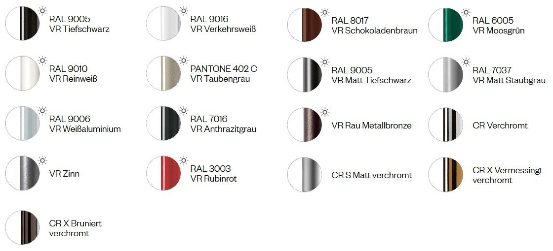 Gestellfarben und Bezugsstoffe Kantinensessel Kicca Kantineneinrichtung