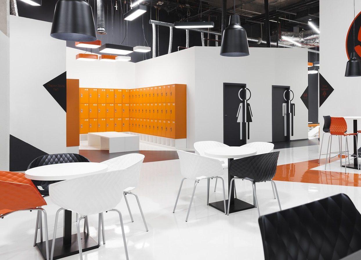 Kantinensessel uni-ka ergonomisch Sitzkomfort Kantine Lounge bequeme armlehnen
