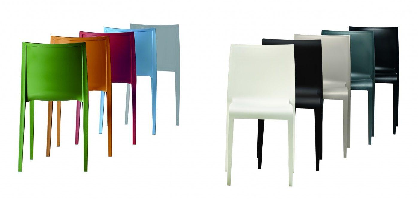 Kunststoffstuhl Nassau, viele Farben, leicht, stabil, Sitzkomfort, Aussenbereich